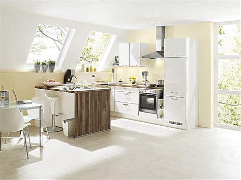 Küchenzeile Winkelküche by Klein K 252 Che Theke