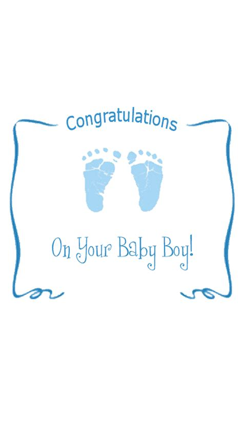 congratulations on your baby card template congratulations baby card for boy hd wallpapers