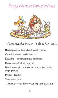 fancy nancy the dazzling book report annie and aunt fancy nancy and the teaching of vocabulary fancy nancy the dazzling book report by jane o connor on