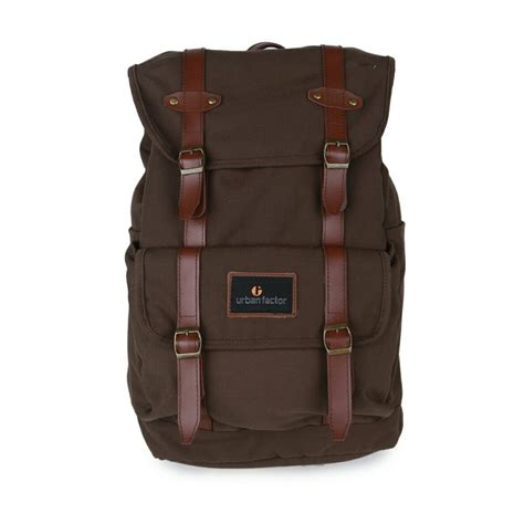 Jaket Kulit Sintetis Mix Plecee 1 tas ransel mix up brown mall indonesia