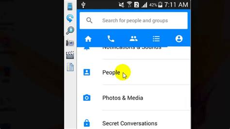 how to unblock someone on iphone how to unblock contact in facebook messenger android app