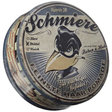 Pomade Schmiere rumble 59 schmiere medium hold pomade based hair pomade pomade