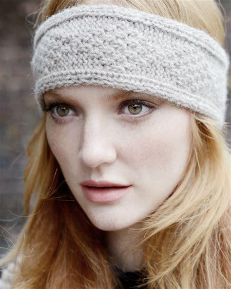 knitting headbands inca headband knitting pattern purl alpaca designs