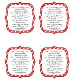 non religious candy cane poem just b cause