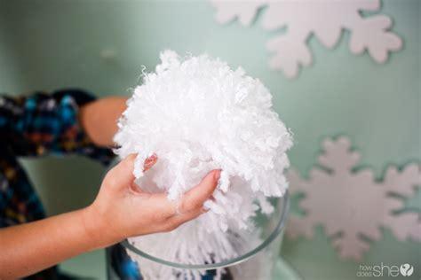 Snowball Pompom diy yarn pom pom snowballs