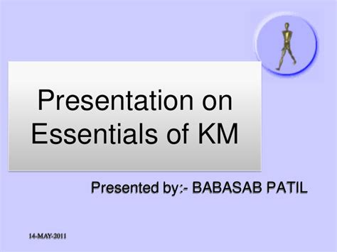 Mba Essentials Slide Rule by Essentials Of Km Ppt Mba