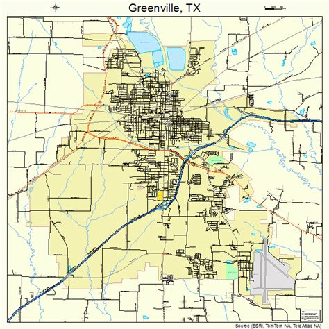 map of greenville texas greenville tx pictures posters news and on your pursuit hobbies interests and worries