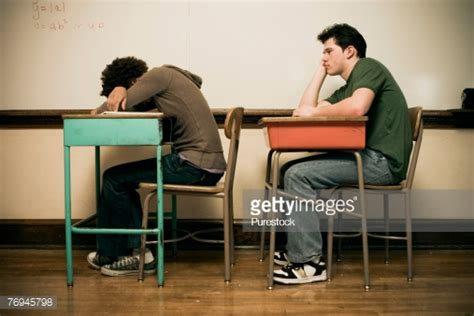 Bored Classroom Stock Photos And Pictures Getty Images Student Sitting At Desk