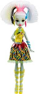 monster high electrified frankie stein doll with lights