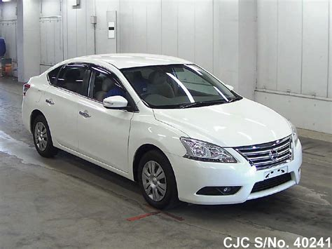 nissan car 2013 2013 nissan bluebird sylphy pearl for sale stock no