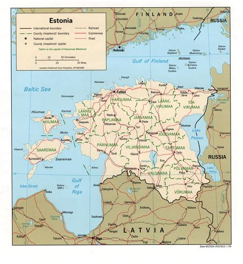 estonia on world map nationmaster maps of estonia 4 in total