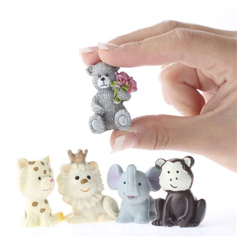 small animal figurines for crafts miniature animal figurine animal miniatures dollhouse miniatures doll supplies