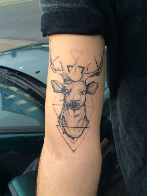 geometric elk tattoo 17 best images about tattoo ideas on pinterest david