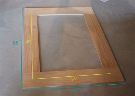 how to make a frame for a bathroom mirror how to make a frame for a mirror decorating ideas