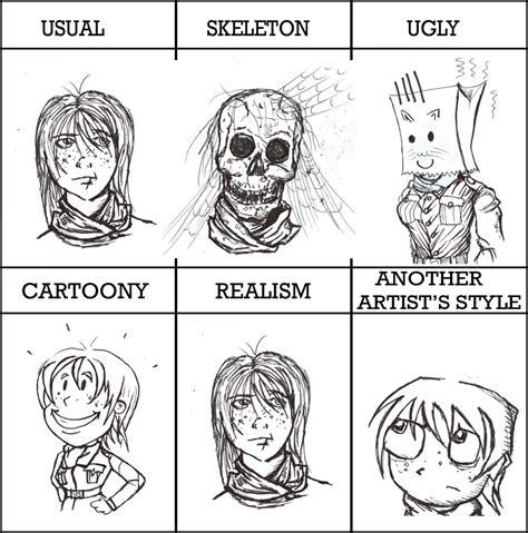 Drawing Meme - drawing style meme by enojado on deviantart