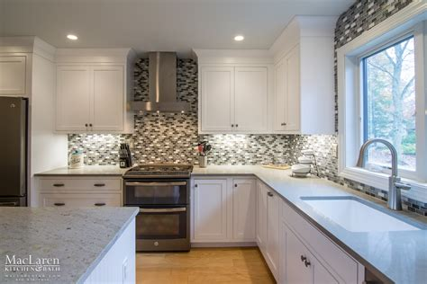 river white granite with white cabinets river white granite island in west chester pa maclaren