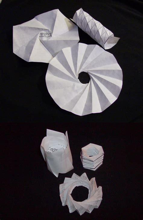 origami telescope origami in spaaaaace science buzz