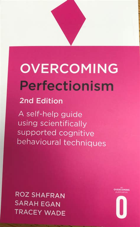 overcoming perfectionism anxiety uk