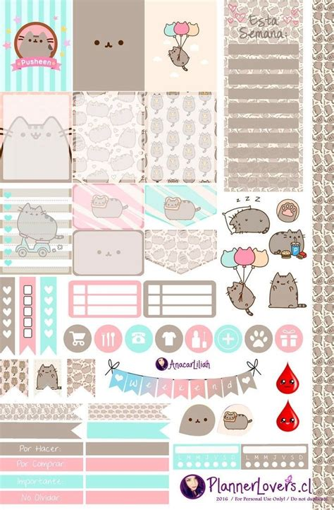 printable cat stickers free printable stickers for scrapbooking journalingsage com