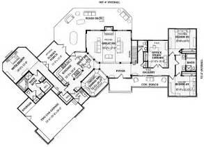 Ranch Floor Plans With Split Bedrooms angled split bedroom ranch