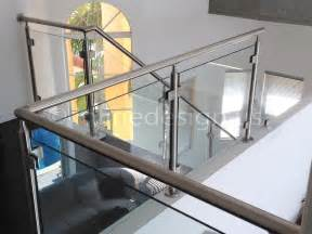 Glass Banister For Stairs by Metal Staircase Wooden Floating Steps Glass