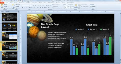 ppt templates free download solar system animated solar system powerpoint template for science