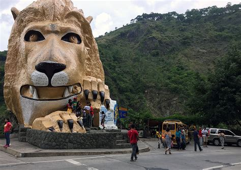 online tutorial jobs in baguio city baguio lion s head gets new paint photos gma news online