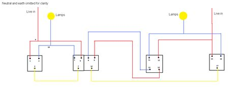 wiring diagram of a two way and intermediate lighting