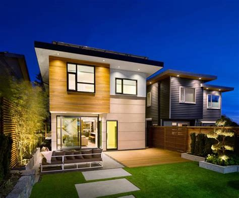 home design modern exterior ultra green modern house design with japanese vibe in vancouver