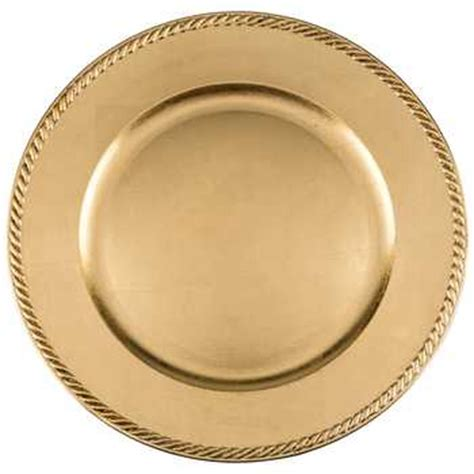 gold charger plates for 1 13 quot gold leaf plastic plate charger hobby lobby 527713