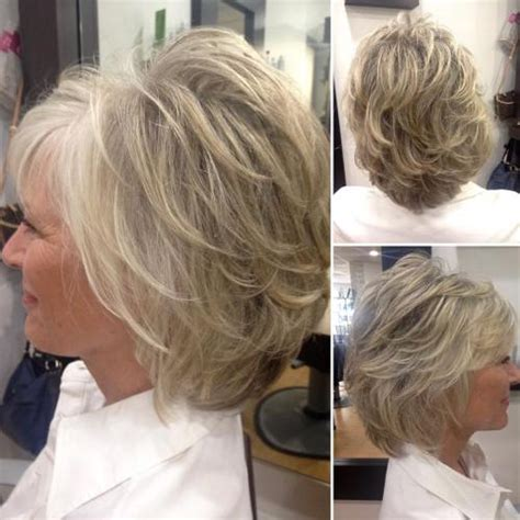 short layered bob hairstyles for older women haircuts 90 classy and simple short hairstyles for women over 50