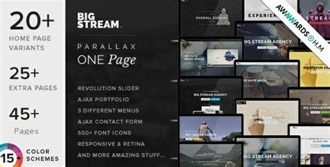 16 best responsive one page joomla templates 2017 useful