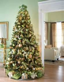 Home Decorated Christmas Trees Mesmerizing Golden Christmas Tree Decoration