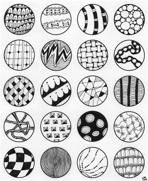 zentangle pattern circle 152 best zentangle patronen how to images on pinterest