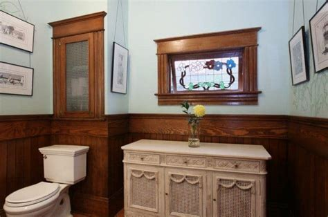Water Resistant Wainscoting For Bathroom by Bathroom Wainscoting Is Decorative And Protect The Walls