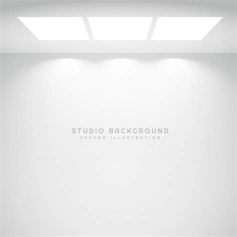 white studio white studio lights background vector free download