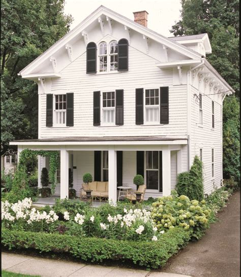 simple portico for clapboard sided home designed by georgia front porch porticos with curb things we love white clapboard houses design chic