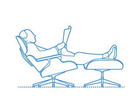 Eames Lounge Chair Dimensions by Eames Lounge Chair Dimensions Sante