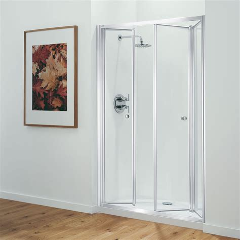 Coram Shower Doors Coram Optima 1200mm Tri Fold Shower Door At Plumbing Now