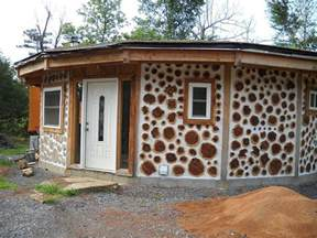 cordwood home for sale in oklahoma cordwood construction