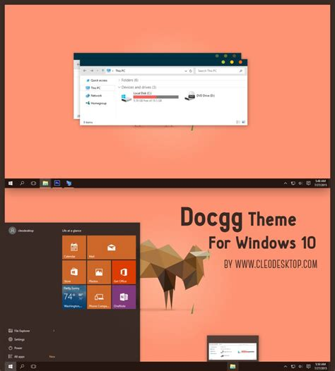 after dark cc theme for windows 10 rtm photoshop cc theme for win10 skinpack customize your