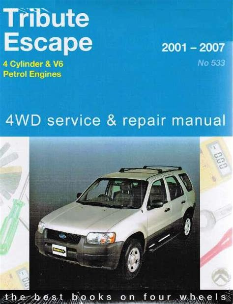 car engine repair manual 2001 ford e series electronic throttle control ford escape mazda tribute 4wd 2001 2007 gregorys owners service repair manual 1563928787