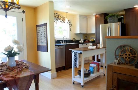 interior designer remodels double wide part