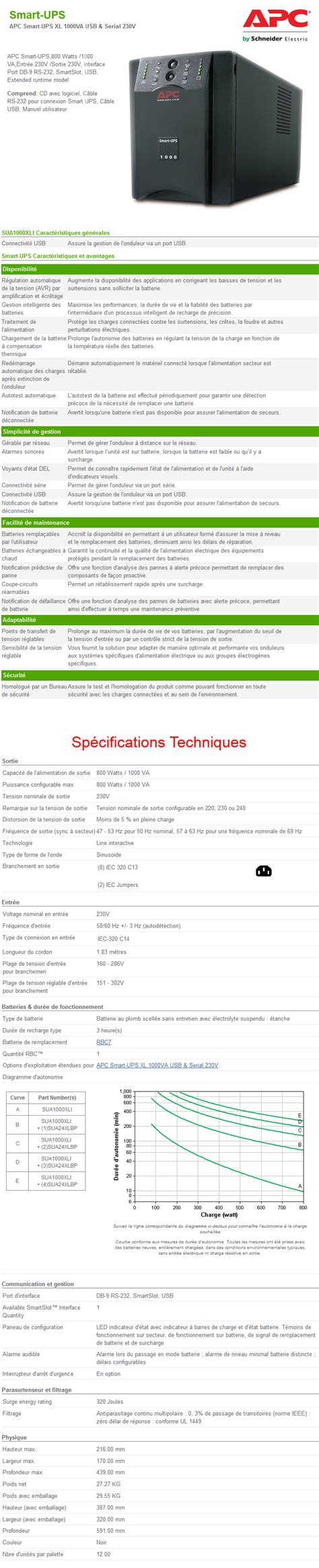 themes line xl onduleur line interactive apc smart ups xl 1000va usb