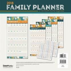 2018 Planner Calendar Family Planner 2018 Wall Calendar 9781438852324
