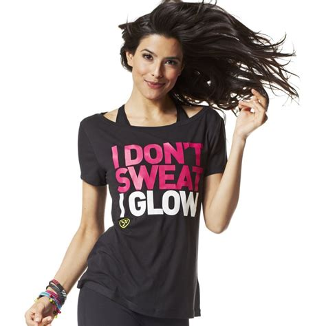 Mba T Shirt Quotes by I Don T Sweat I Glow Black