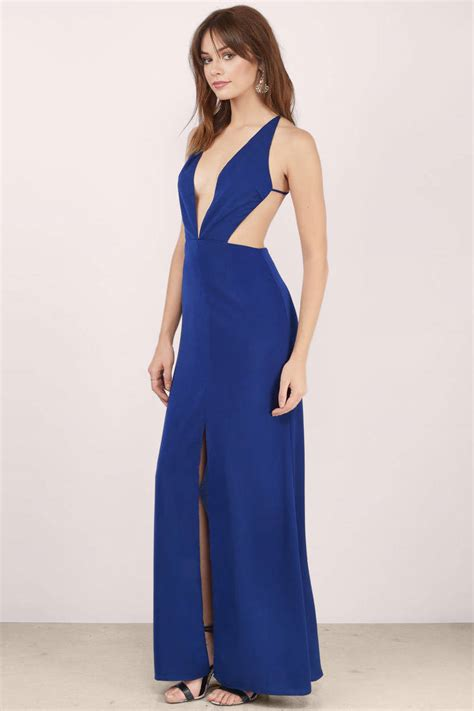 sexy wine dress backless dress royal red gown maxi