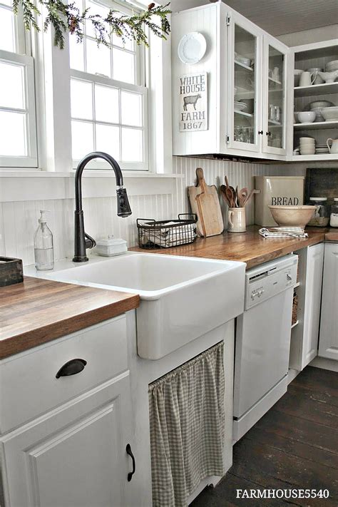 Kitchen Island Makeover Ideas by Farmhouse Kitchen Decor Ideas The 36th Avenue