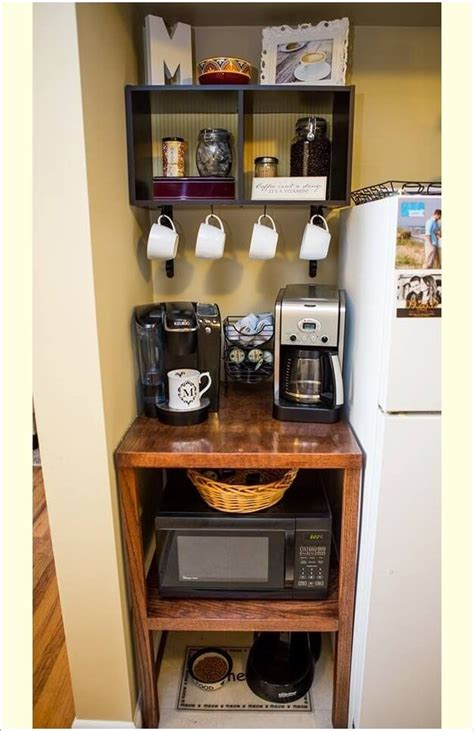 Coffee Station Table 25 Diy Coffee Bar Ideas For Your Home Stunning Pictures Coffee Narrow Table And Bar