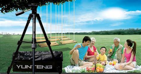 Kualitas Terjamin Weifeng Portable Tripod Stand 4 Section Aluminum yunteng portable lightweight tripod vct